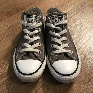 BRAND NEW CONDITION Grey Converse